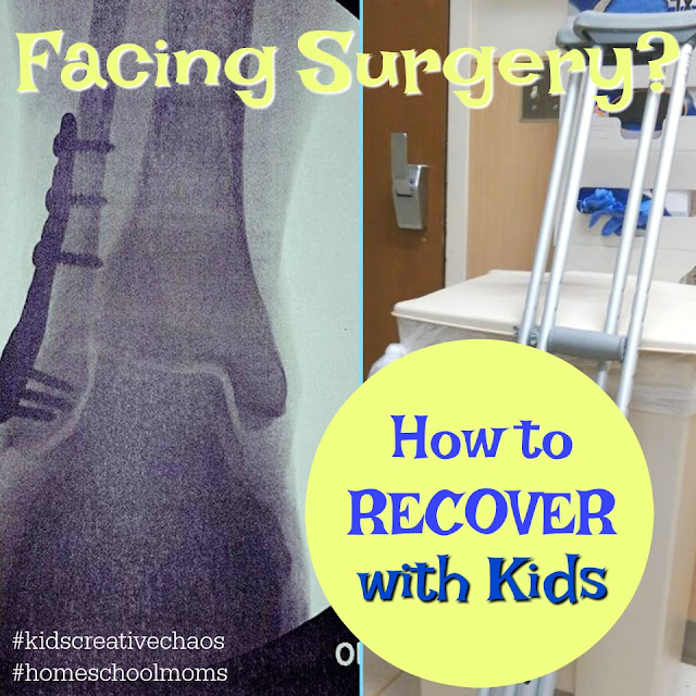 How to Recover from Surgery When Raising Kids