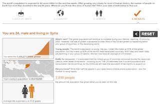 ملخص عن المعلومات السكانية