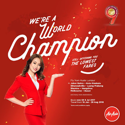 AirAsia Flight Ticket Lowest Fares Promo