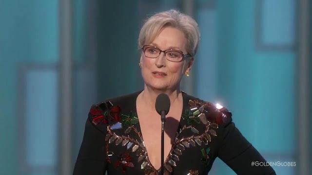 Así fue el conmovedor y reflexivo discurso de Meryl Streep en los Globos de Oro