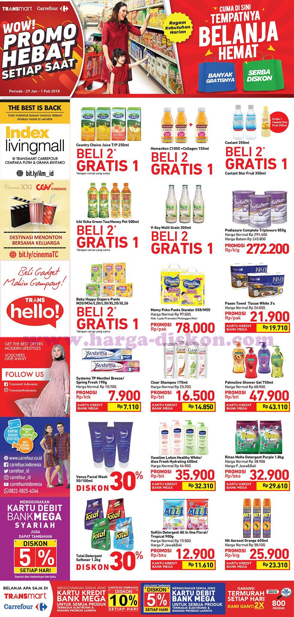 Katalog Promo Carrefour Terbaru Promo Gajian Periode 29 Januari 01