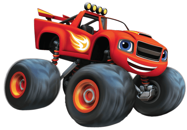 Cartoon Characters Blaze And Monster Machines