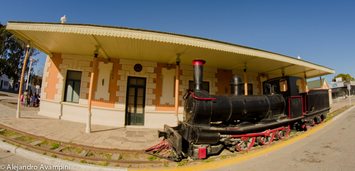 Historical Museum of Puerto Madryn in the Old Central Railroad of the Chubut