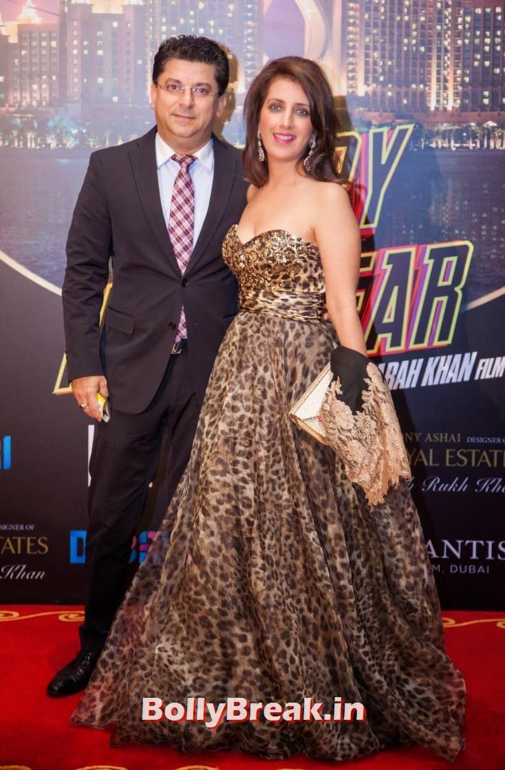 Vikram and Madhu Arora, Happy new Year Dubai Premiere Photos