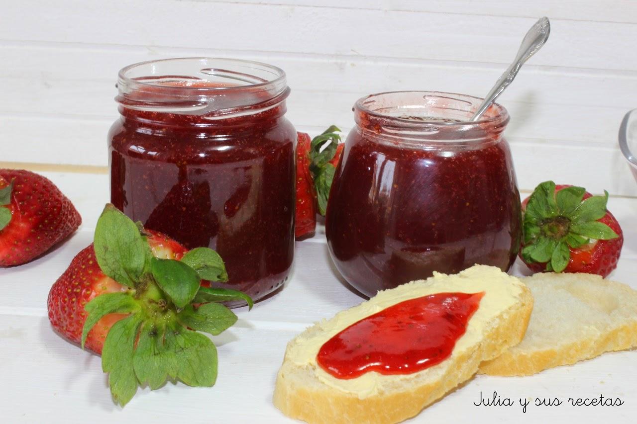 Mermelada de fresas. Julia y sus recetas