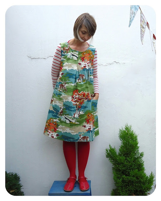Happy Homemade dress C made and worn by Ivy Arch