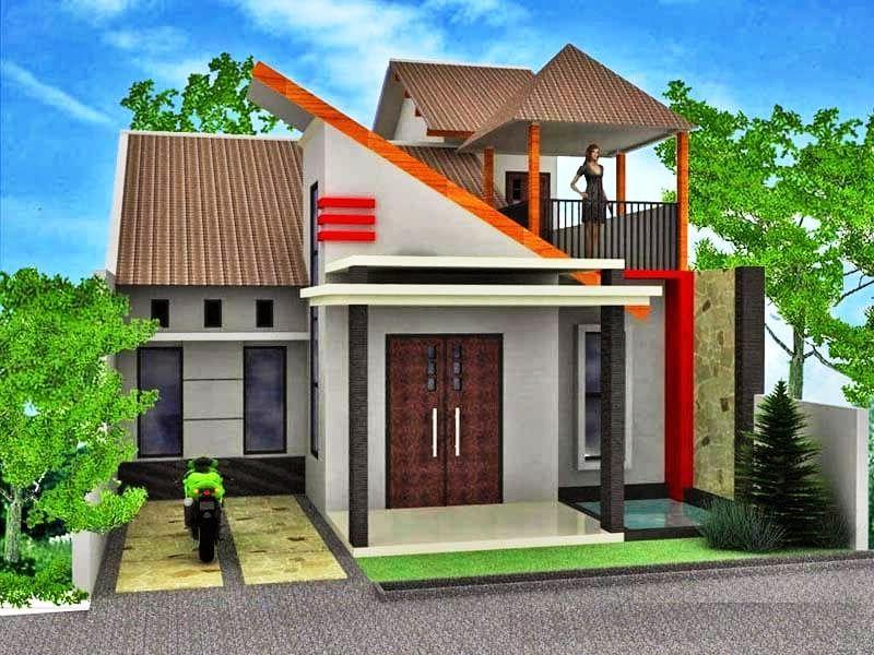 Model Rumah Minimalis 2 Lantai Sederhana