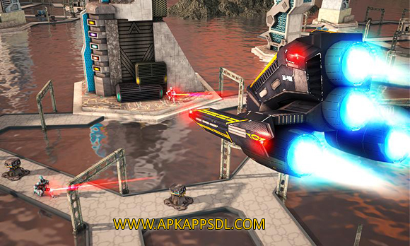Download Metal Jet Space War 2016 Apk Mod v1.3 Android Full Latest Version 2017 Free
