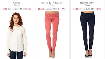 ropa mujer levis