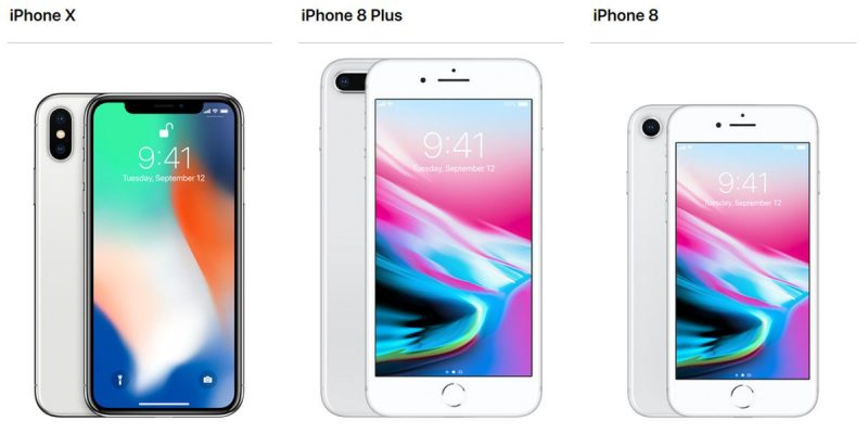 Harga Dan Spesifikasi iPhone 8, iPhone 8 Plus, iPhone X Terbaru