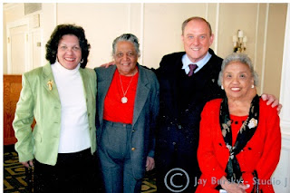 Wylene Branton-Wood, Dr. Arlene Clinkscale, Dr. Cliff L. Wood, Mrs. Thurgood Marshall