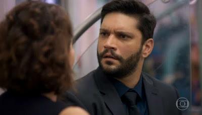 Diogo na novela das 19h da Globo, Bom Sucesso (Foto: Reprodução)