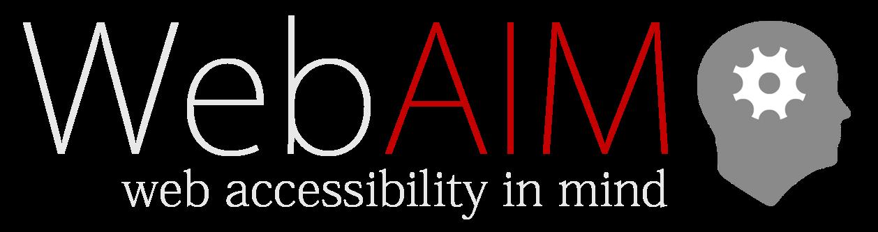Web Aim Accessibility