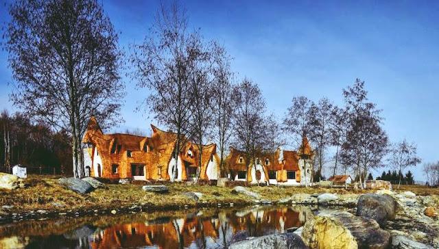 imagini frumoase castelul de lut valea zanelor