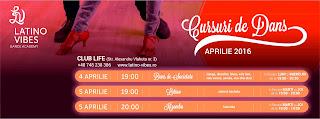 Oradea, cursuri de dans, aprilie 2016