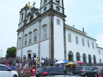 Basílica Senhor do Bonfim, Salvador de Bhía, Brasil, La vuelta al mundo de Asun y Ricardo, round the world, mundoporlibre.com