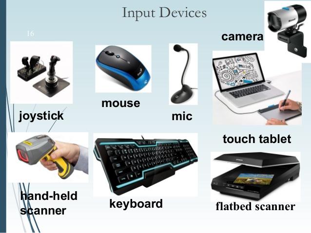 Input Device Komputer - Teknologi Komputer