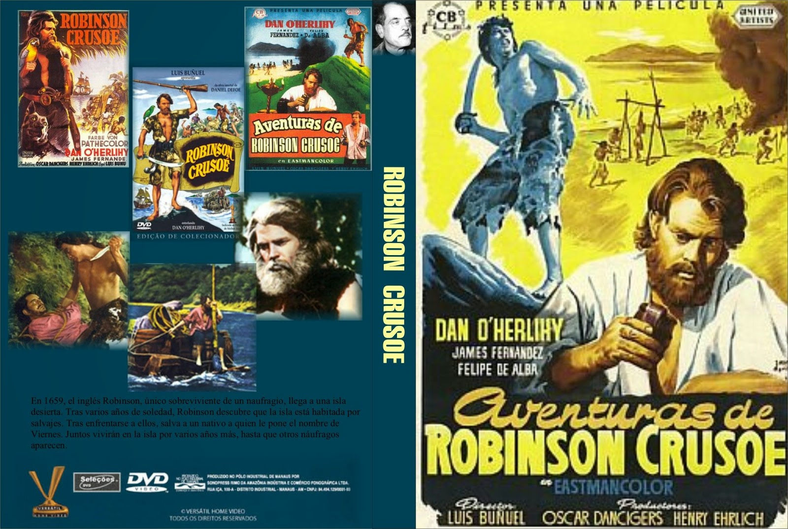 Aventuras De Robinson Crusoe 1954 Dcclasico