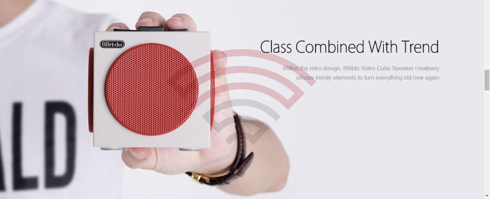 8Bitdo Retro Cube Speaker Ηχείο Bluetooth
