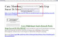 Cara Menghapus Hyperlink Di Document Word