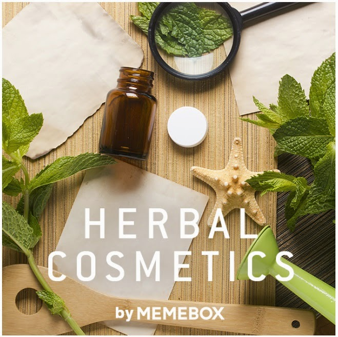 Herbal Skincare, Memebox Herbal Cosmetics, Memebox Discount Codes