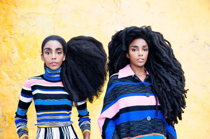 And were eventually recognized as the queens of natural hair - These Twin Sisters Were Ashamed Of Their Incredible Hair, But Now They Became Famous For It