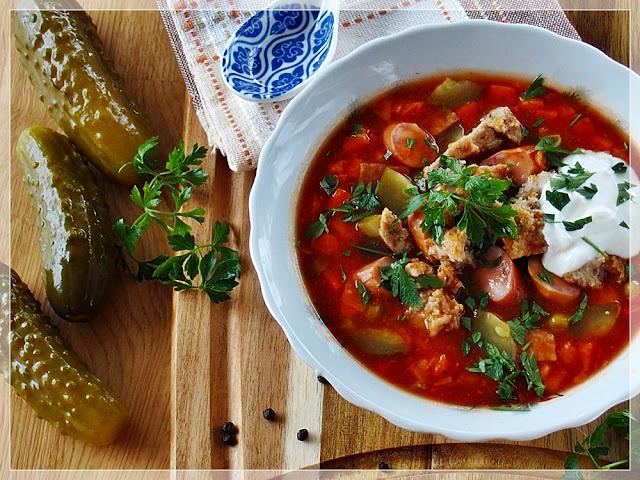 Najlepszy, sprawdzony przepis na soliankę z mięsem i ziemniakami