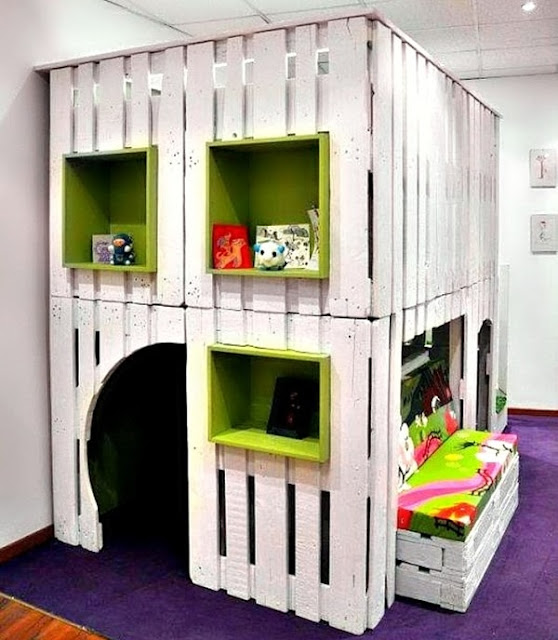 Pallets For Decorating Children's Rooms 9