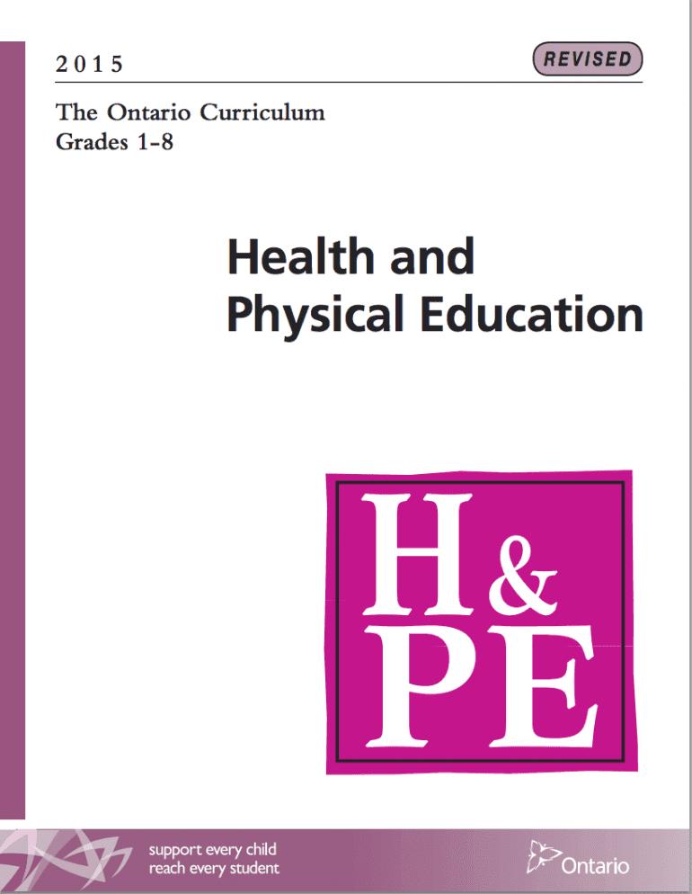 Sexual health curriculum