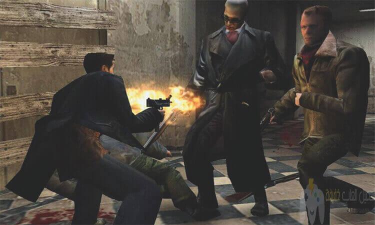 تحميل لعبة ماكس بين 1 Max Payne من ميديا فاير بحجم صغير