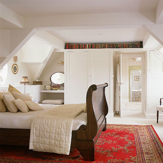 Turning The Attic Into A Bedroom: High Street Market: A Guest Room In The Attic