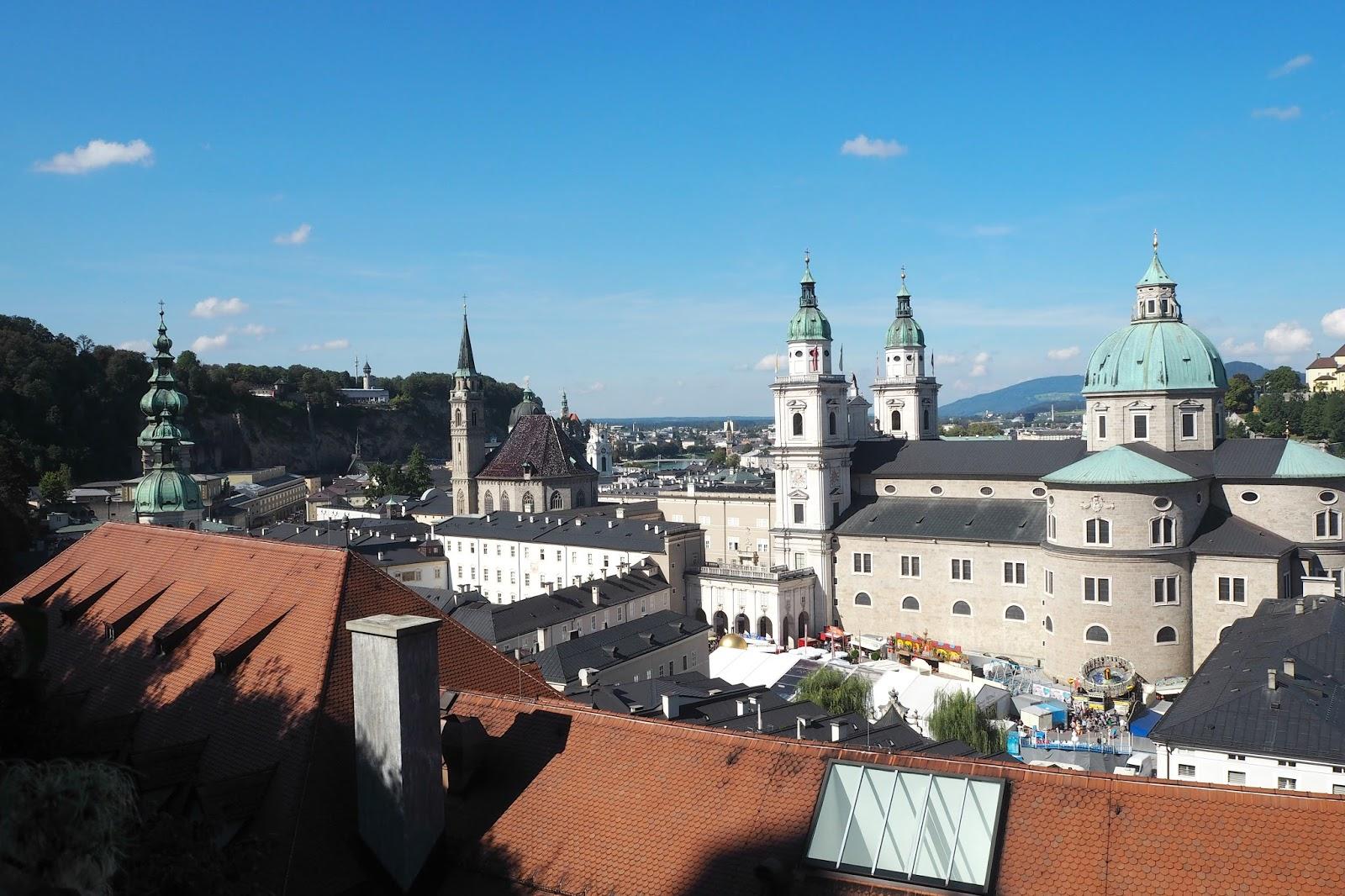 Salzburg from Salzburg castle