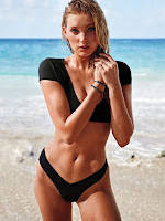 elsa hosk hot swimwear bikini models sexy victoria secret swimsuit photo shoot