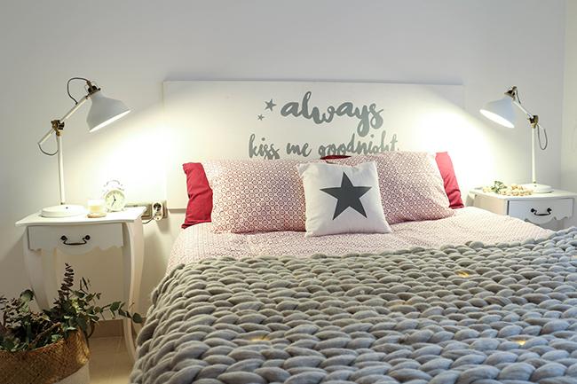 Boho deco chic tour deco mi dormitorio granate gris blanco for Dormitorio granate