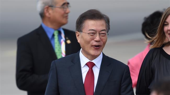 South Korean President Moon Jae-in says 'dialog' best option for Korean crisis