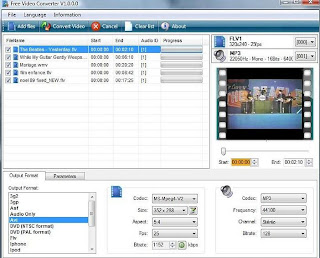 FREE VIDEO CONVERTER PER WINDOWS 7 8