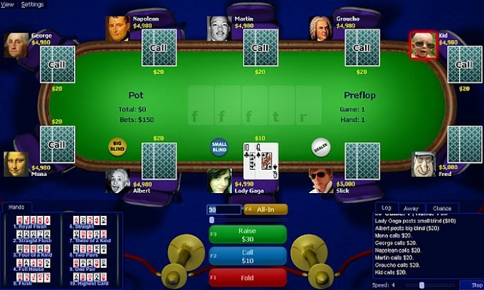 PokerTH - Παίξτε Poker ενάντια στον Η/Υ ή ακόμα και με τους φίλους σας