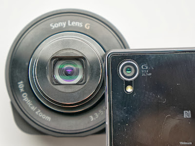every bit an additional lens for smart phones  Guide How to purpose the Sony QX10 alongside Android in addition to iOS