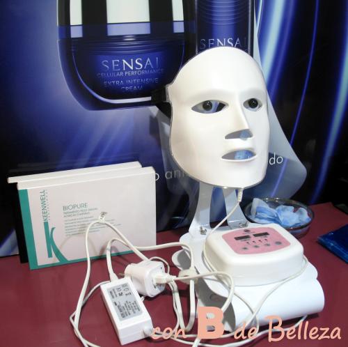 Opinión máscara LED