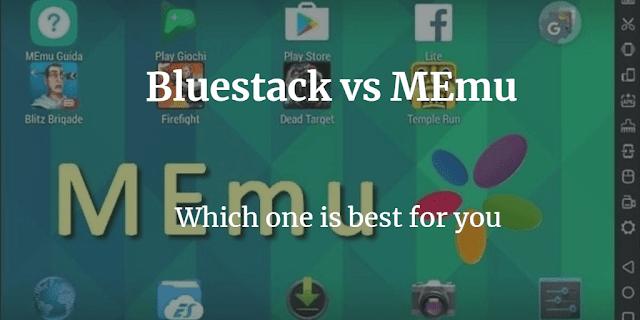 memu vs bluestacks