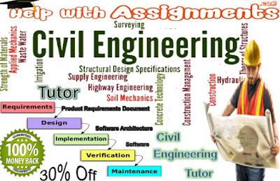 Civil Engineering Tutor, Civil engineering assignment help, Engineering help, Engineering assignment help, Engineering homework help