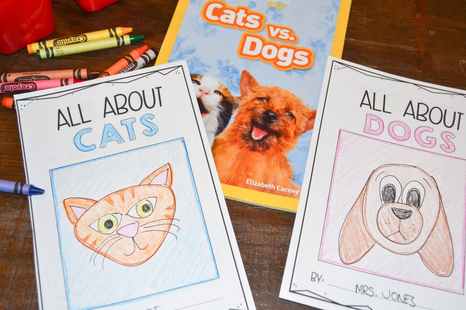 dog vs cat book