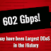 602 Gbps! This May Have Been the Largest DDoS Attack in History