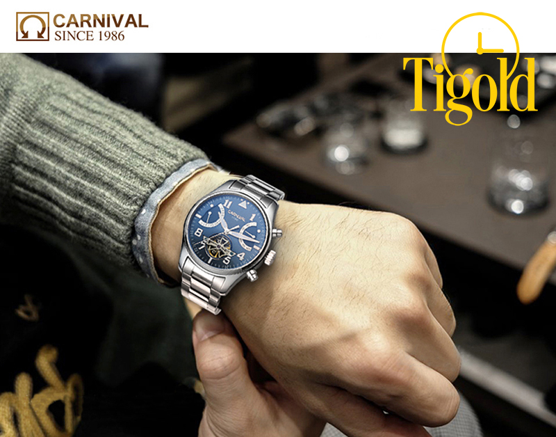 đồng hồ carnival 1986 đẹp