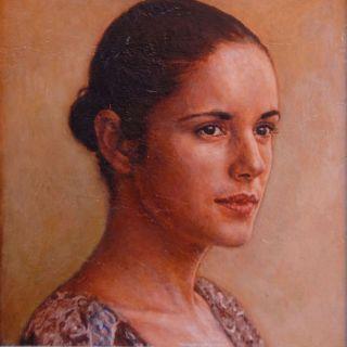Портреты, ню, фигуративные картины и городские пейзажи. Alejandro Hasler