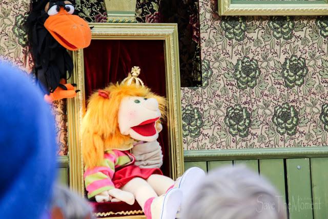 Märchenstunde beim Wannabe im CenterParcs mit Klappmaulpuppen