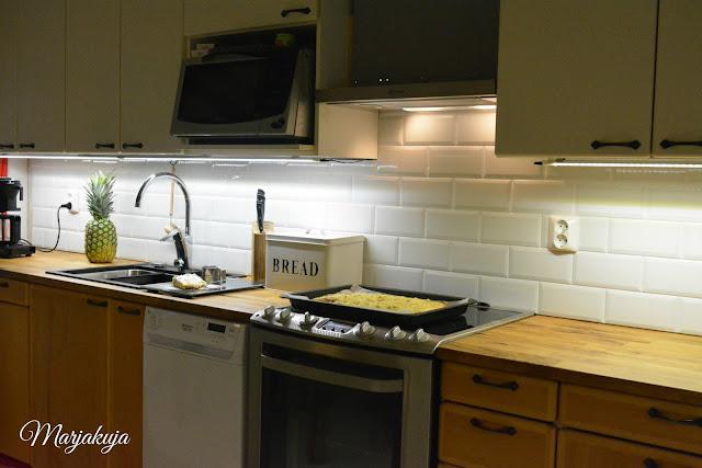 remontoitu keittio