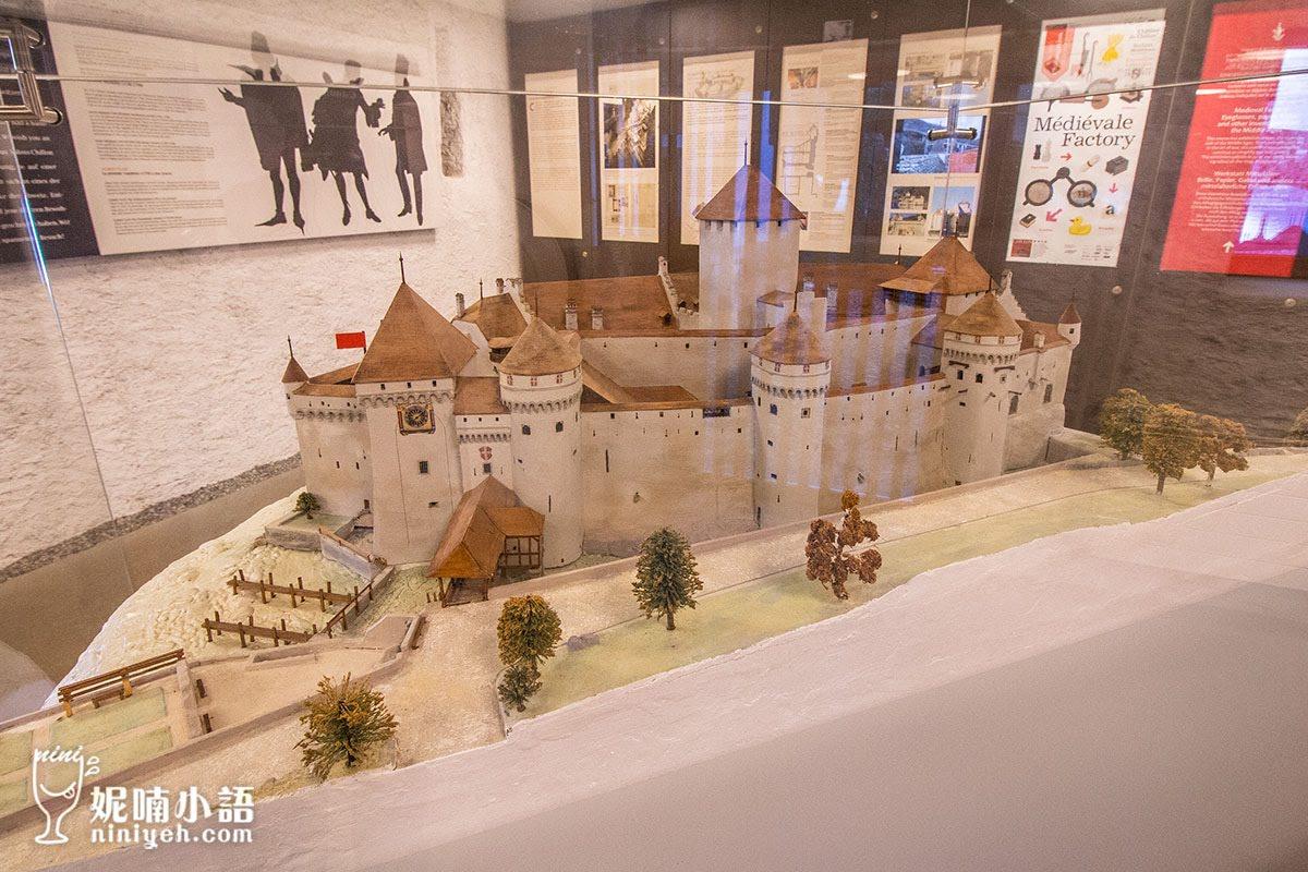 【瑞士蒙特勒景點】西庸城堡Chateau de Chillion。『到此一遊』發源地