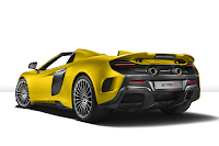 The McLaren 675 LT Spider