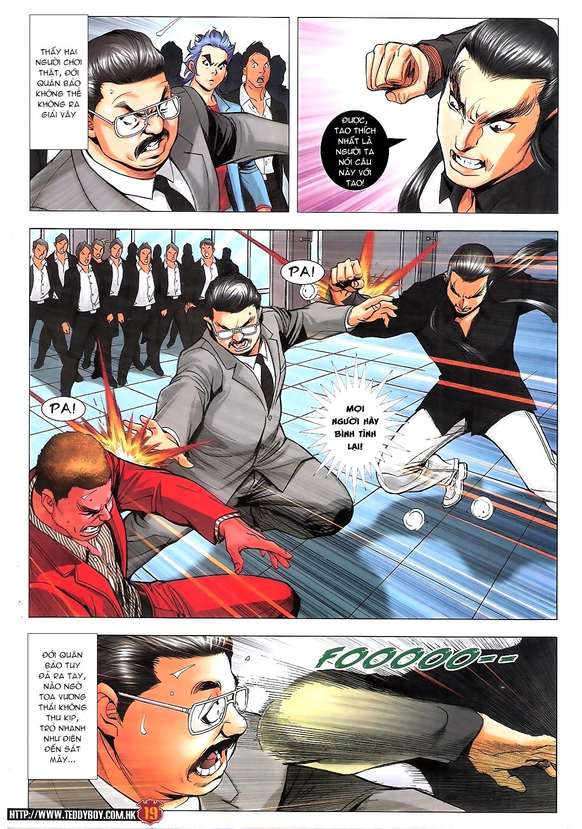 Người Trong Giang Hồ chapter 1814: trời giúp lương gia nhân trang 18